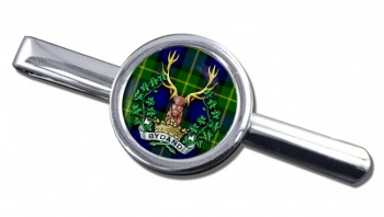 Gordon Highlanders (British Army) Round Tie Clip