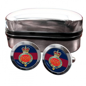 Grenadier Guards (British Army) Cypher Round Cufflinks