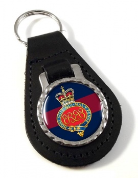 Grenadier Guards (British Army) Cypher Leather Key Fob