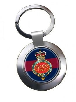Grenadier Guards (British Army) Cypher Chrome Key Ring