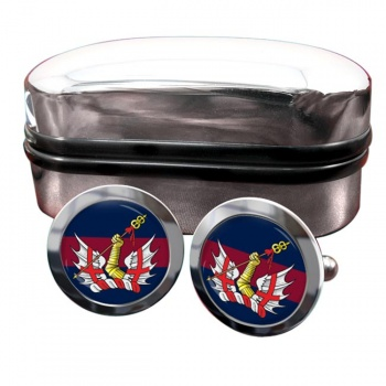 Honourable Artillery Company Round Cufflinks