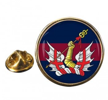 Honourable Artillery Company Round Pin Badge