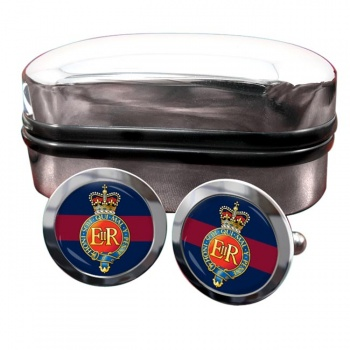 Household Cavalry (British Army) Round Cufflinks