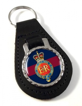 Household Cavalry (British Army) Leather Key Fob