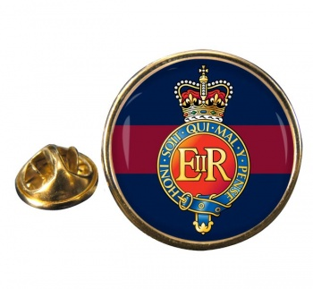 Household Cavalry (British Army) Round Pin Badge