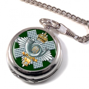 Highland Light Infantry (British Army) Pocket Watch