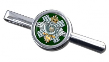 Highland Light Infantry (British Army) Round Tie Clip