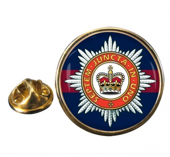 The Household Division (British Army) Round Pin Badge