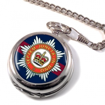 The Household Division (British Army) Pocket Watch