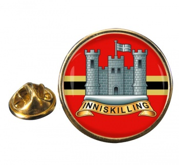 Inniskillings (6th Dragoons) (British Army) Round Pin Badge