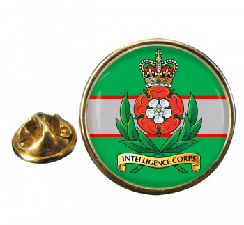 Intelligence Corps (British Army) Round Pin Badge