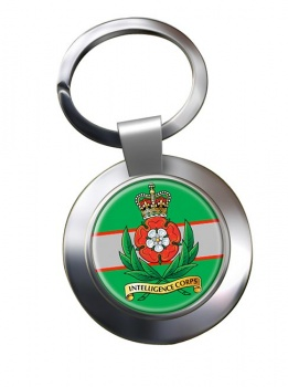 Intelligence Corps (British Army) Chrome Key Ring