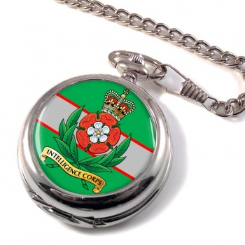 Intelligence Corps (British Army) Pocket Watch