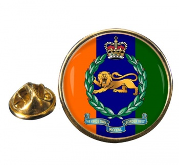 King's Own Royal Border Regiment (British Army) Round Pin Badge