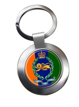 King's Own Royal Border Regiment (British Army) Chrome Key Ring
