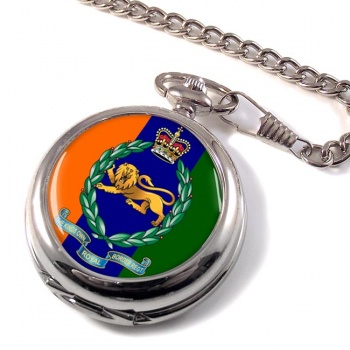 King's Own Royal Border Regiment (British Army) Pocket Watch