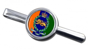 King's Own Royal Border Regiment (British Army) Round Tie Clip