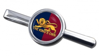 King's Own Royal Regiment Round Tie Clip