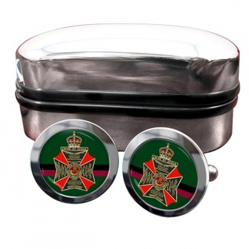 King's Royal Rifle Corps (British Army) Round Cufflinks