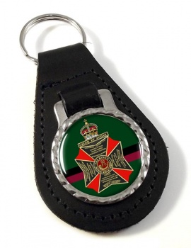King's Royal Rifle Corps (British Army) Leather Key Fob