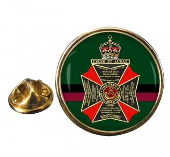King's Royal Rifle Corps (British Army) Round Pin Badge