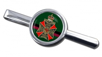 King's Royal Rifle Corps (British Army) Round Tie Clip