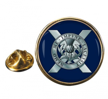 Lowland Band of the Scottish Division (British Army) Round Pin Badge