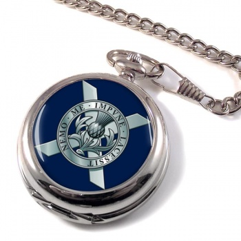 Lowland Band of the Scottish Division (British Army) Pocket Watch