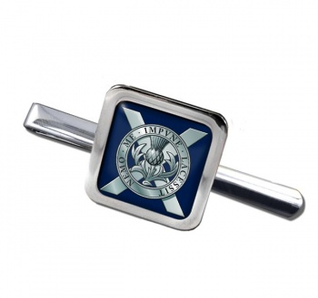 Lowland Band of the Scottish Division (British Army) Square Tie Clip