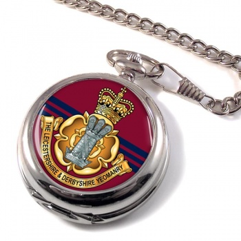 Leicestershire and Derbyshire Yeomanry Pocket Watch