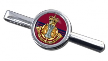 Leicestershire and Derbyshire Yeomanry Round Tie Clip