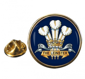 Prince of Wales's Leinster Regiment (British Army) Round Pin Badge