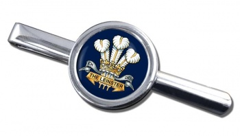 Prince of Wales's Leinster Regiment (British Army) Round Tie Clip