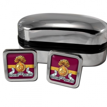 Lancashire Fusiliers (British Army) Square Cufflinks