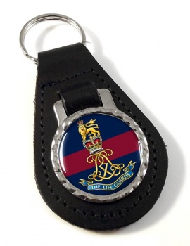 Life Guards (British Army)  Leather Key Fob