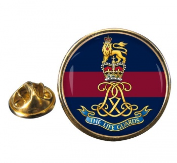Life Guards (British Army)  Round Pin Badge