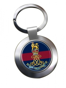 Life Guards (British Army)  Chrome Key Ring