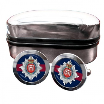 London Regiment Round Cufflinks