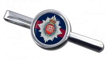 London Regiment Round Tie Clip