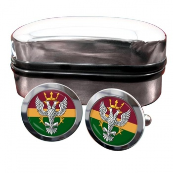Mercian Regiment (British Army) Round Cufflinks