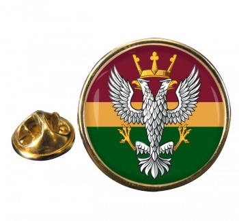 Mercian Regiment (British Army) Round Pin Badge