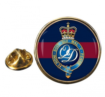 Minden Band of the Queen's Division (British Army) Round Pin Badge