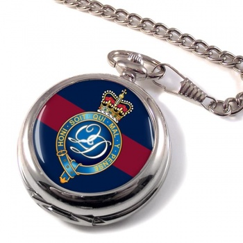 Minden Band of the Queen's Division (British Army) Pocket Watch