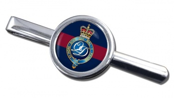 Minden Band of the Queen's Division (British Army) Round Tie Clip