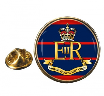 Military Provost Staff Corps (British Army)Round Pin Badge