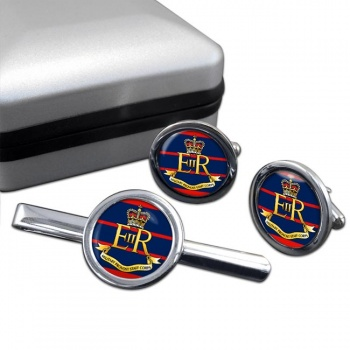 Military Provost Staff Corps (British Army)Round Cufflink and Tie Clip Set