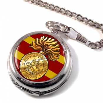 Northumberland Fusiliers (British Army) Pocket Watch