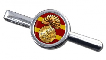Northumberland Fusiliers Round Tie Clip