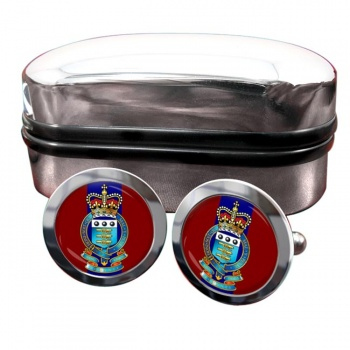 Royal Army Ordnance Corps (British Army) Round Cufflinks