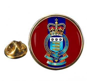 Royal Army Ordnance Corps (British Army) Round Pin Badge